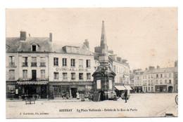 Carte Postale Ancienne - Circulé - Dép. 76 - GOURNAY EN BRAY - Place STANISLAS, Entrée De La Rue De PARIS - Gournay-en-Bray