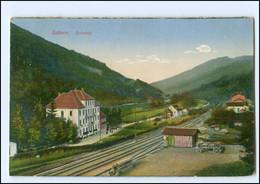 Y18976/ Zabern Elsaß Zorntal Eisenbahnstrecke AK 1918 - Elsass