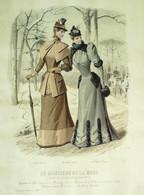 Le MONITEUR De La MODE-1892/04 - Prints & Engravings