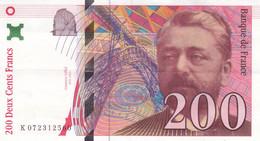 Billet 200 F Eiffel 1999 FAY 75.05 N° K 072312560 - 200 F 1995-1999 ''Eiffel''