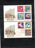 Monaco 1968 Olympic Games Mexico City FDC - Summer 1968: Mexico City