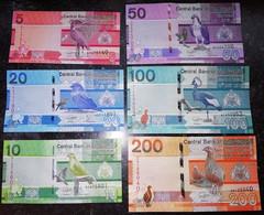 Gambia - Set 6 Banknotes 5 10 20 50 100 200 Dalasis 2019 UNC Lemberg-Zp - Gambie