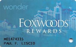 Foxwoods Casino Ledyard, CT - Slot Card - Casino Cards