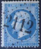 22 Obl GC 2112 Luçay-le-mâle (35 Indre ) Ind 15 ; Frappe Nette & TB Centrée - 1849-1876: Klassik