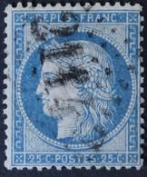 60C Obl GC 2114 Lucenay-lès-Aix (56 Nièvre ) Ind 12 ; Frappe Centrée - 1849-1876: Période Classique