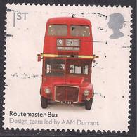 GB 2009 QE2 1st British Design Classics ' Routemaster Bus 'used SG 2896 ( H1024 ) - Gebraucht