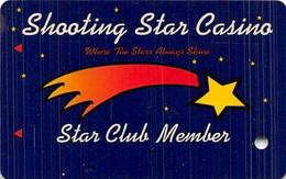 Shooting Star Casino - Mahnomen, MN - BLANK Slot Card - Casino Cards