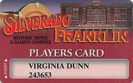 Silverado - Franklin Historic Hotel - Deadwood SD - Casino Slot Card - Casino Cards