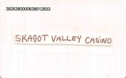 Skagit Casino - Bow, WA - Temporary Slot Card - Casino Cards