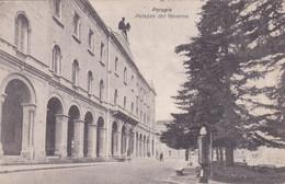 PERUGIA - CARTOLINA - PALAZZO DEL GOVERNO - VIAGGIATA PER LIZZARDA DI ROVERETO (TN) - Perugia