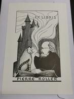 Ex-libris Luxembourg, Pierre Roller 14x10 - Ex Libris