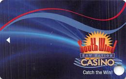 South Wind Kaw Nation Casino - Newkirk, OK - BLANK Slot Card - Casino Cards