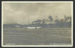 NORWAY  LANGESUND - H.Wergeland, Kunstforlag,Porsgrund Old Postcard (see Sales Conditions) 04320 - Noruega