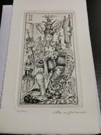 Ex-libris Luxembourg, Pierre Roller 18x10 - Ex Libris