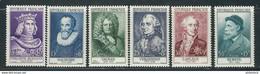 F - France Série Renoir - 1955 N°1027 à 1032 ** (cote 157.00) - Unused Stamps