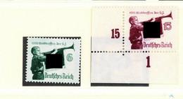 Deutsches Reich Michel Nummer 584 Y + 585 Y Postfrisch - Zonder Classificatie