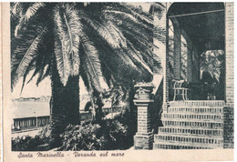 1942 SANTA MARINELLA 16 -- ROMA - Autres Villes