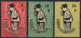 1950's Hungary - For DPR Korea WAR - Children Charity Stamp - CINDERELLA LABEL VIGNETTE - BOY - Korea (Noord)