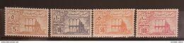 NO11 - Lebanon 1973 Fiscal Revenue Stamps Anjar Issue 5p, 10p, 50p, 100p - MNH - Libano
