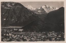 Schweiz - Interlaken - Mit Mönch Und Jungfrau - Ca. 1950 - BE Berne
