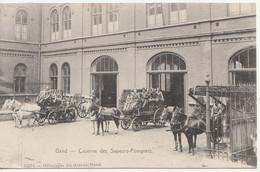 Gent - Kazerne Brandweermannen - Caserne Pompiers - Geanimeerd - Uitg. De Graeve 15274 - Gent