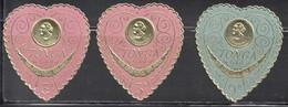 TONGA Scott # 36-7 MNH Self Adhesive - Queen Salote On Coin - Tonga (1970-...)