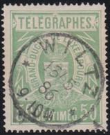 Luxembourg  .  Y&T   .    Telegraph  3a   .  Perf. 14      .   O    .   Oblitéré   .   /   .    Gestempelt - Télégraphes