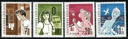 Berlin - Mi 193 / 196 ✶✶ # - Ferienplätze Für Berliner Kinder - Unused Stamps