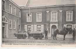 Lessines - Fabrique D' Allumettes B. Mertens Et Cie - Transport Des Bois à L' Usine - Lessines