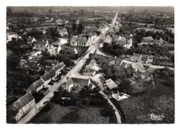Carte Postale Moderne - 15 Cm X 10,5 Cm Non Circulé - Dép. 72 - LE GRAND LUCE - Vue Aérienne, La Route De MAMERS - Le Grand Luce