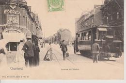 CHARLEROI - AVENUE DU VIADUC - TRAMWAY - NELS SERIE 5 N° 81 - Charleroi
