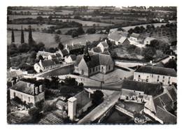 Carte Postale Moderne - 15 Cm X 10,5 Cm Non Circulé - Dép. 72 - SAINT REMY Des MONTS  - Vue Aérienne, Carrefour, église - Altri Comuni