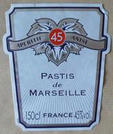 PASTIS  De Marseille, RICARD, 150 Cl, 45°, TB - Other