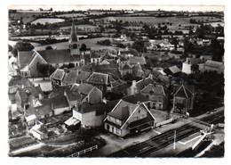 Carte Postale Moderne - 15 Cm X 10,5 Cm - Circulé - Dép. 72 - ROUESSE VASSE  - Vue Aérienne, Gare, Vue D' Ensemble - Altri Comuni