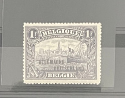 OCC  N°51A ** TYPE II - [OC38/54] Belg. Besatzung In D.