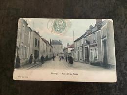 Carte Postale Pussay Rue De La Poste - Unclassified