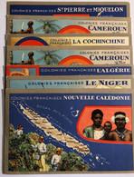 35 Cartes Postales COLONIES FRANÇAISES - Storia
