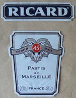PASTIS  De Marseille, RICARD, 200 Cl, 45°, TB - Other