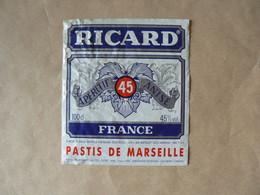 PASTIS  De Marseille, RICARD, France, 100 Cl, 45°, TB - Other