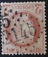51 (cote 15 €) Obl GC 2145 Lyon (68 Rhône ) Ind 1 ; Frappe Très Nette & TB Centrée - 1849-1876: Classic Period