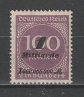 GERMANY REICH 1923 WEIMAR Mi 331 HYPERINFLATION OVP MNH ** - Nuevos