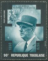 Togo 1971 Tod Von Charles De Gaulle 848 A Postfrisch - Togo (1960-...)