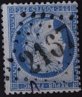 60C Obl GC 2167 Mailly (9 Aube ) Ind 9 ; Frappe Très Nette & Centrée - 1849-1876: Période Classique