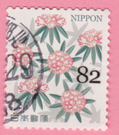 2019 GIAPPONE Fiori Flowers Fleurs Leaves And Flowers - 82 Y Usato - Usati