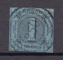 """Thurn Und Taxis - 1853 - Michel Nr. 11 N4 """"250"""" WEIDA - Gestempelt - 40 Euro - Thurn En Taxis"""