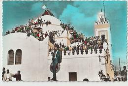 CPSM Alger El Djezair La 1ère Fête Nationale Après L'indépendance La Foule Sur La Grande Mosquée Jomone 3048 - Algeri