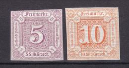 Thurn Und Taxis - 1859 - Michel Nr. 18/19 - Postfrisch - Thurn En Taxis