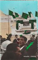 CPSM Alger El Djezair La 1ère Fête Nationale Après L'indépendance La Foule Place Des Martyrs Jomone 3045 - Algeri