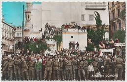 CPSM Alger El Djezair La 1ère Fête Nationale Après L'indépendance La Foule Devant L'ONAT Tourisme Jomone 3043 - Algeri