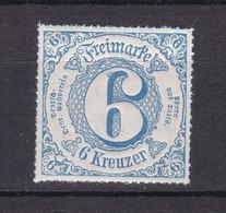 Thurn Und Taxis - 1866 - Michel Nr. 53 - Postfrisch - Thurn En Taxis